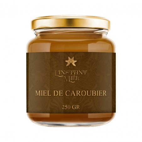 Miel de caroubier du Maroc (Analysé à 80%)