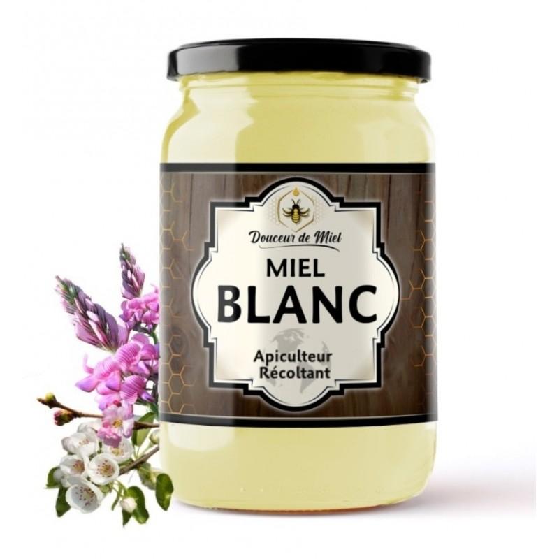 Miel Blanc Crémeux d'Asie Centrale (Kirghizistan) 250g